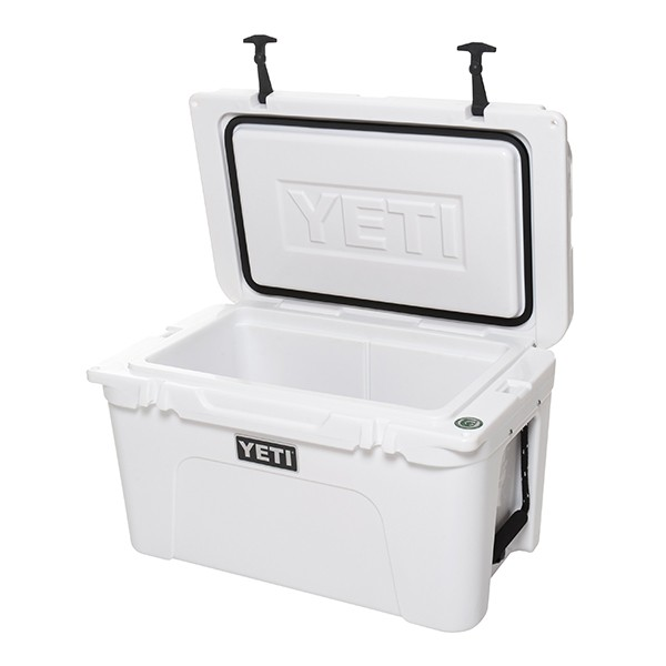 Yeti Tundra White Open