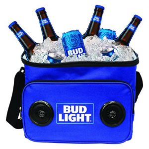 Budlight Cooler With Speakers