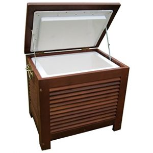 Outdoor Wooden Cooler Box