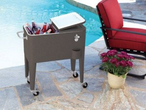 living accent pool area cooler - Patio Coolers
