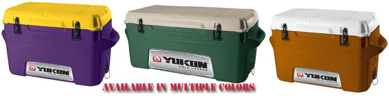 Pink Cooler, Red Cooler, Iglook Yukon Cooler