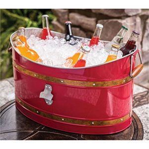 Vintage Bucket Ice Chest