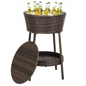 Wicker Basket Cooler