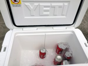 Yeti Tundra 45 Five Day Ice Challenge Drained