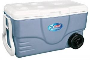 Coleman 62 Quart Rolling Cooler