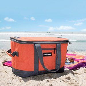 Clever Folding Beach Cooler