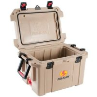 Pelican35 Quart Cooler Open