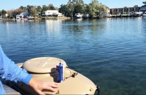 Easily Accessible Kayak Cooler