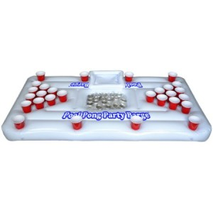 Go Pong Floating Raft Cooler