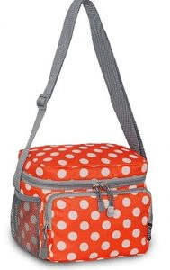 Everest Polka Dot Personal Cooler