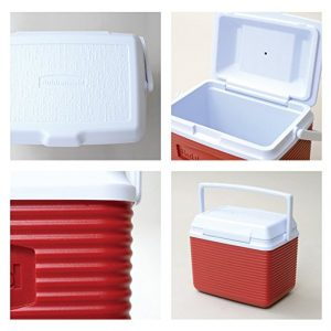 Small Rubbermaid Cooler