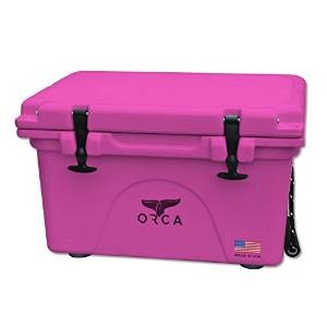 Pink Orca Cooler