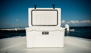 Yeti Cooler On A Boat