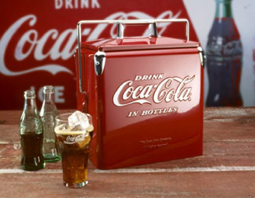 Retro Coca -Cola Cooler