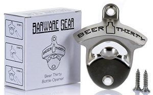 Barware Mounted Bottle Opener