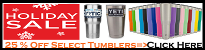 Holiday Sale On Tumblers