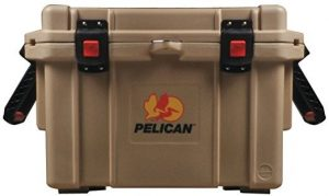 Tan Pelican 45Qt Cooler