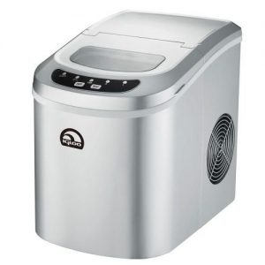 Silver Igloo Portable Ice Maker