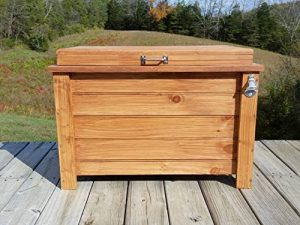 Outdoor Wooden Ice Cooler Box Coolers On Sale