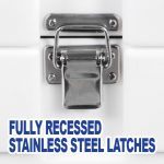 Recessed Latches