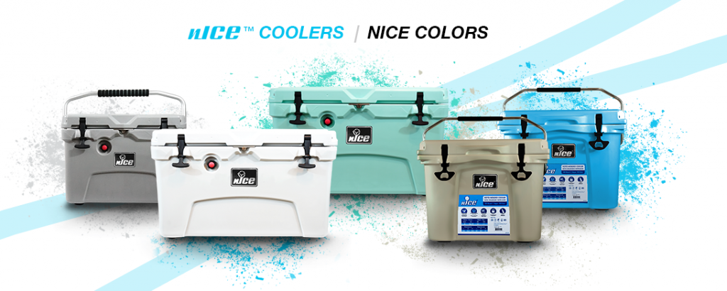 Color Choice Available For nICE Coolers
