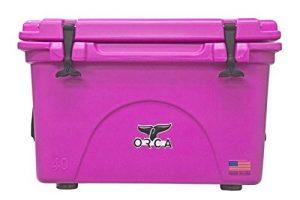 Pink Orca 40Qt Cooler