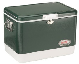 Green Coleman Steel Belted