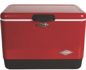 Red Steel Belted Cooler Review