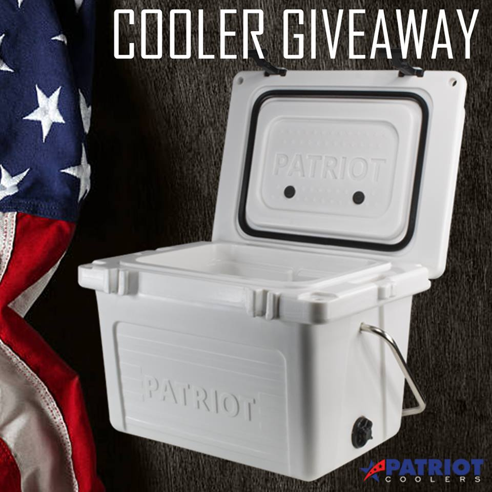Patriot Cooler Giveaway Entry