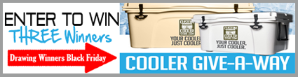 Custom Cooler Giveaway