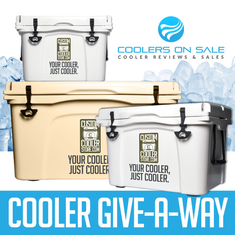 Win A Custom Cooler