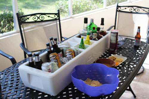Tailgating Cooler Barge