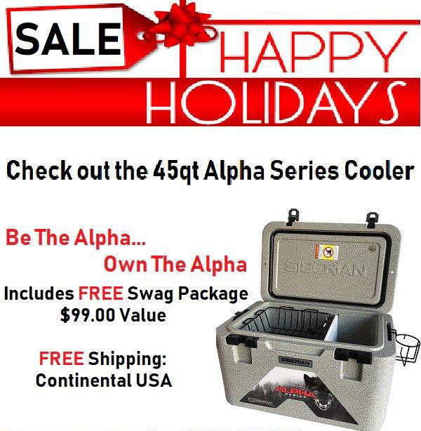 Siberian Coolers Holiday Sale