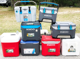 Coolers We Tested